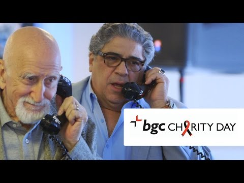 The Sopranos Cast Hustles on Wall Street: BGC Charity Day 2015