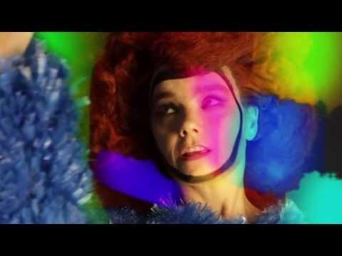 Björk en séance photo avec Sam Falls pour Dazed & Confused