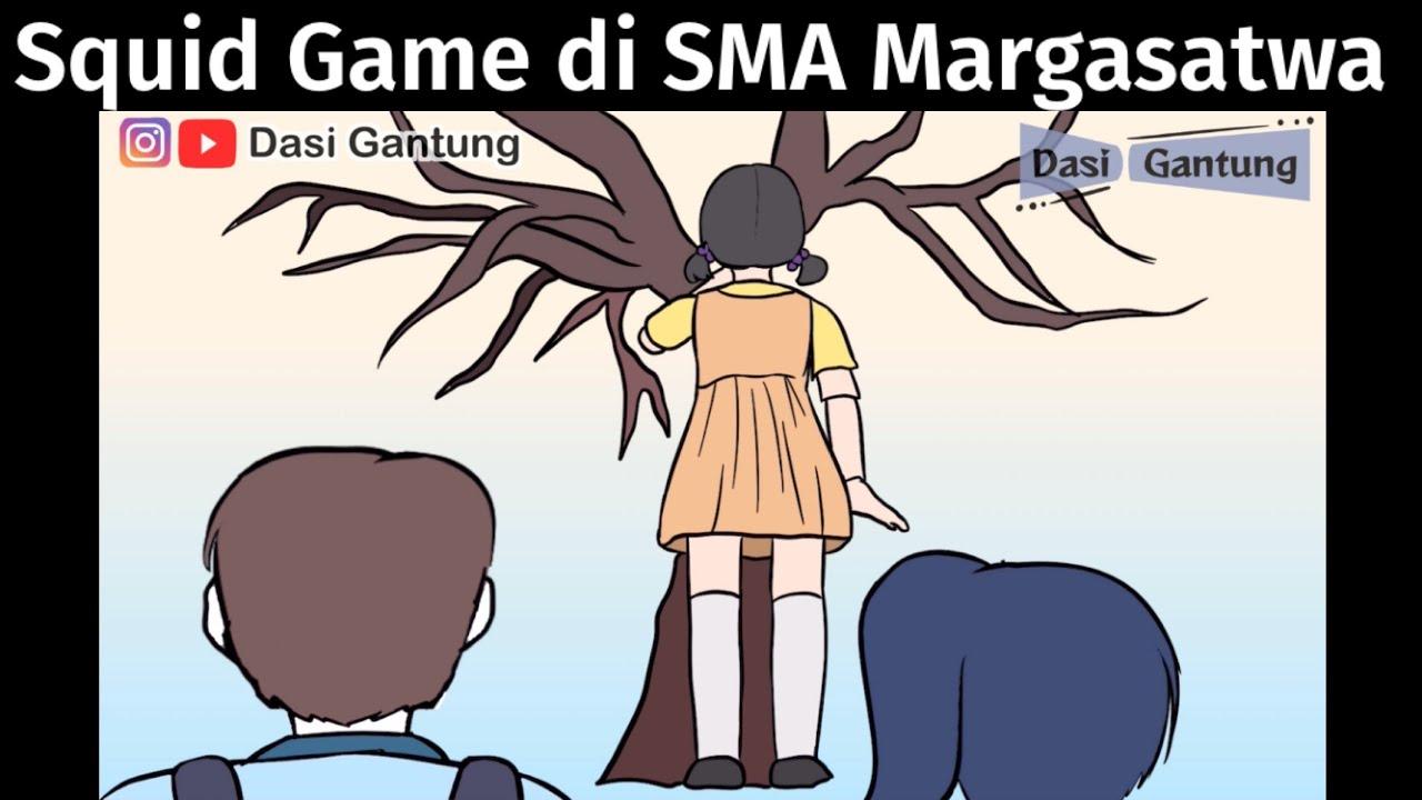 Download Squid Game di SMA Margasatwa