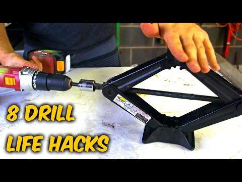 8 Drill Life Hacks