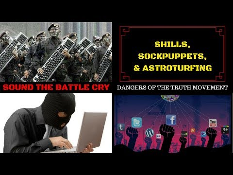 Shills, Sockpuppets, & Astroturfing: How the Elite Deceive and Manipulate You