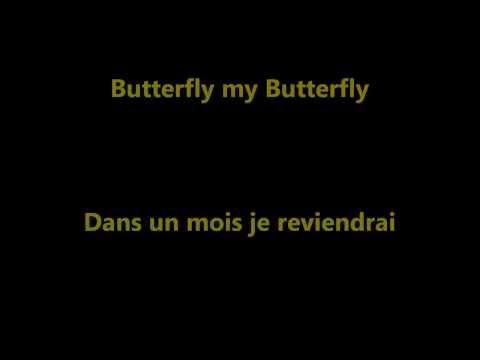 Butterfly Danyel Gérard cover (lyrics)