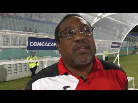 Shabazz areacts to 7-0 win over Suriname in CFU Women's Challenge
