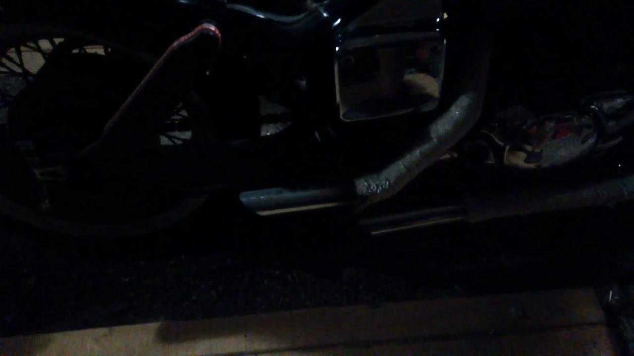 2003 Honda Shadow Spirit VT 750 DC afterfire/backfire