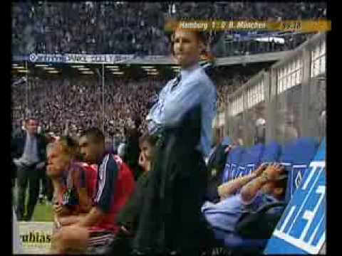 Bundesliga Saisonfinale 2001 - die entscheidenen Minuten am 33. und 34.Spieltag