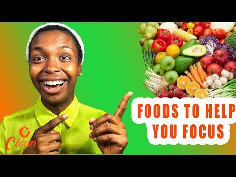 Powerful Foods that keep you awake and focused