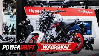 2020 Yamaha MT-125 : Naughty little thing : EICMA 2019 : PowerDrift