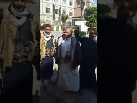 فيديو: انصار حزب المؤتمر يسيطرون على ديوان محافظة إب بعد هروب قيادات الحوثي