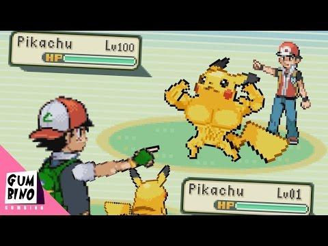 "Pokemon parody   ""Ash vs Red Pokémon Battle"""