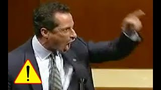 Anthony Weiner Goes Absolutely CRAZY and Screams at the TOP OF HIS LUNGS at Republican!