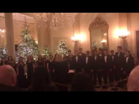 "Cherokee High School Concert Choir- ""O Holy Night"" @ The White House"