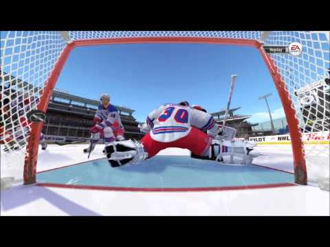 NHL 13: Winter Classic - Flyers vs. Rangers Gameplay (Xbox 360)