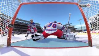 NHL 13: Winter Classic - Flyers vs. Rangers Gameplay (Xbox 360)