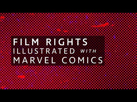 Film Rights Illustrated with Marvel Comics