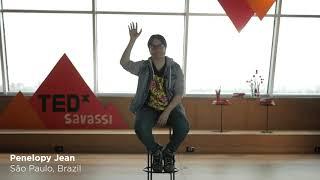 Como a minha Drag salvou a minha vida?  | Penelopy Jean | TEDxSavassi