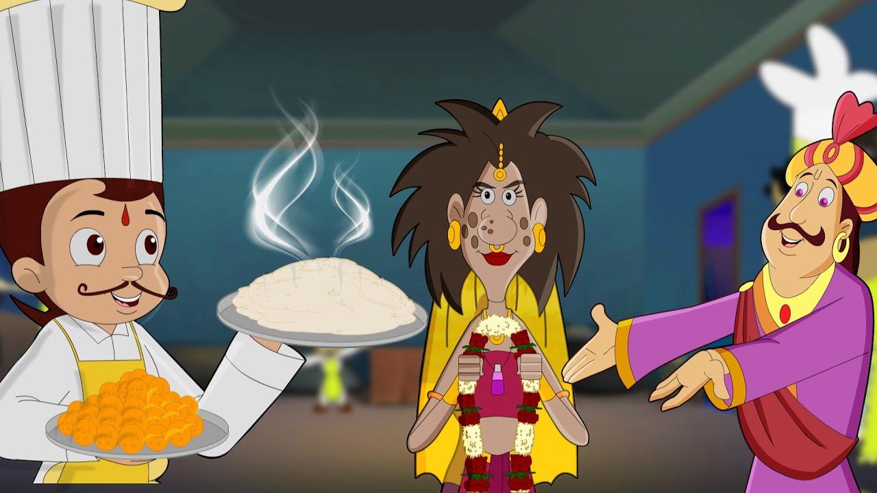 Chef Bheem VS Chudail Rani | Adventure Videos for Kids in Hindi | Cartoons for Kids
