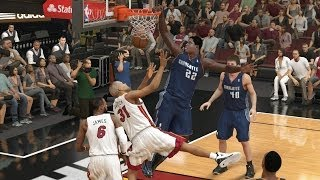5th Quarter Glitch vs. Heat - NBA 2K14 MyCareer Andrew Wiggins