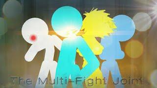 Multiple Fight Joint   Sticknodes