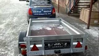 Прицеп грузовой для легковых автомобилей AvtoS AC19AB