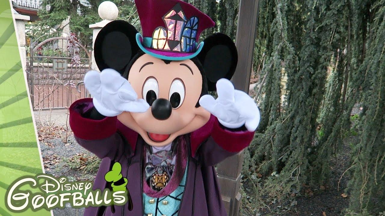 Saison Halloween Disneyland Paris 2019.Phantom Manor Mickey Disneyland Paris 2019
