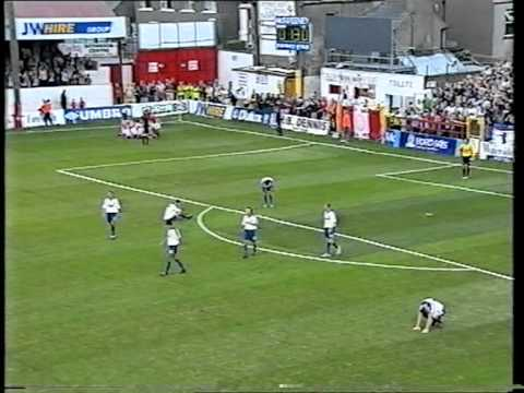Dave Rogers scoring in Europe
