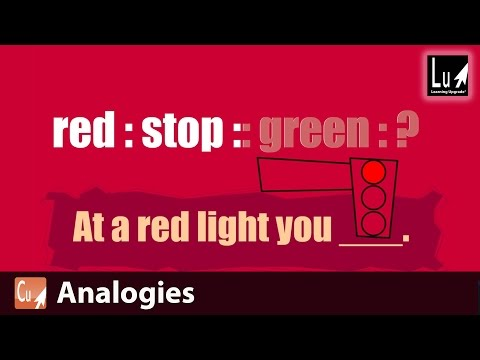 Analogies Song – Learn Comprehension – Learning Upgrade App