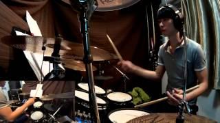 周柏豪-百年不合Drum cover By Hong Lo