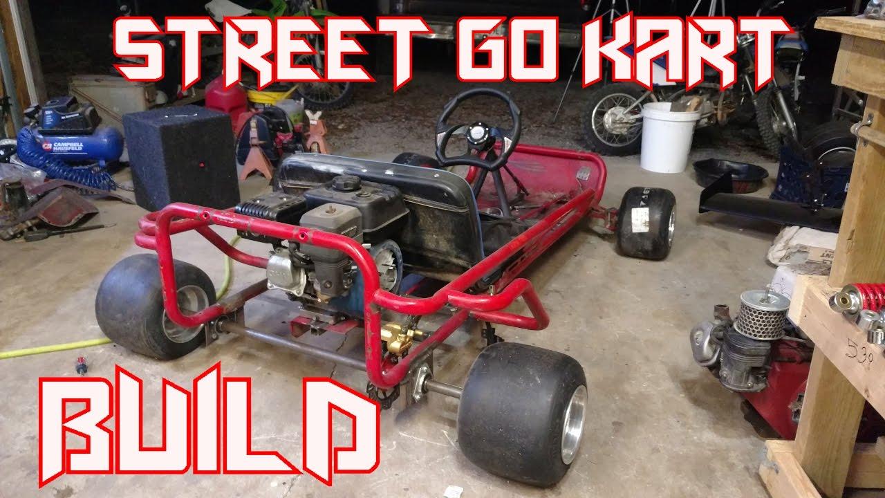 Street Go Kart Build Episode 1 - YouTube