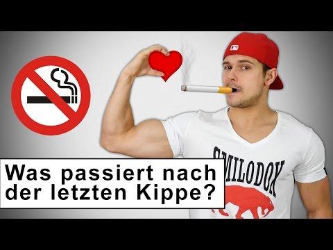 Mit dem Rauchen aufhören! Was passiert nach der letzten Zigarette?