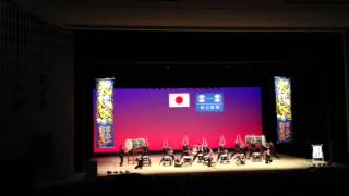太鼓祭inソニックシティ2012 組太鼓日本一 4. 日本航空高等学校 太鼓隊