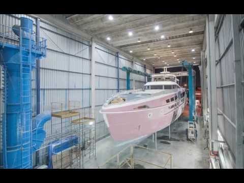 MCP Yachts - 106 Limited Edition superyacht being built