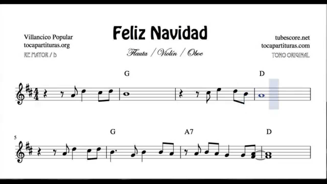 Wanna Wish You a Merry Christmas Sheet Music for Flute Recorder ...