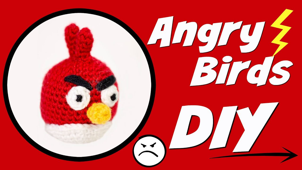 Angry Birds Häkeln Red Do It Yourself Amigurumi