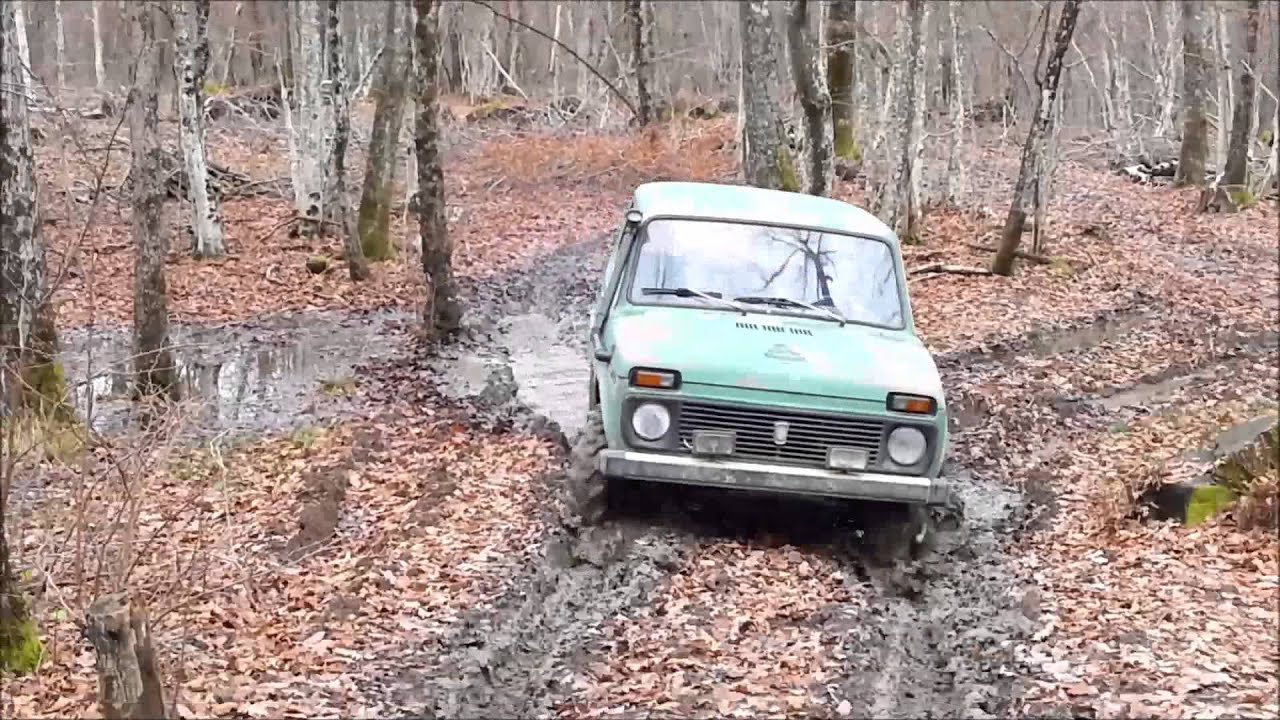 lada niva offroad 4x4 2015 youtube. Black Bedroom Furniture Sets. Home Design Ideas