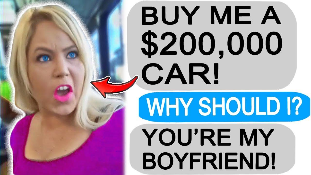 """r/Entitledparents """"KAREN DEMANDS I BUY HER A $200,000 CAR!"""""""