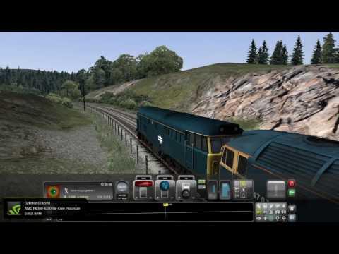 Train Simulator 2016. Dumfries to Castle Douglas.