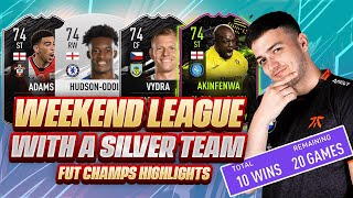 I PLAYED FUT CHAMPS WITH A SILVER TEAM! UNBEATEN? FIFA 21 WEEKEND LEAGUE