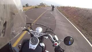 caida biker suzuki gz150