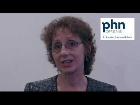 Marianne Shearer from Gippsland Primary Health Network (GPHN)