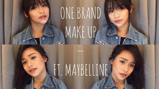 One Brand Make Up Tutorial Ft. Maybelline Products | Ella Manucdoc