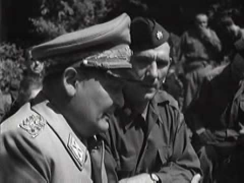 Hermann Goering Press Conference Shortly After His Arrest 5-16-1945