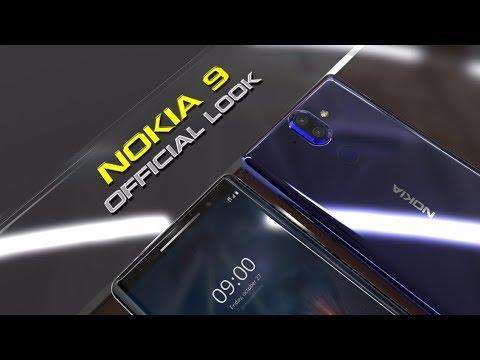 Nokia 9 Official look! | Dual camera, no headphone jack, IP68?