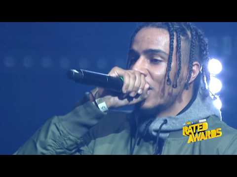 Rated Awards 2017 - AJ Tracey Performance