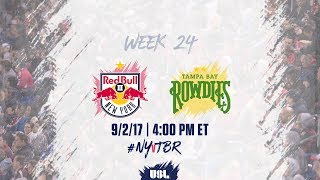 New York Red Bulls USL vs Tampa Bay Rowdies full match