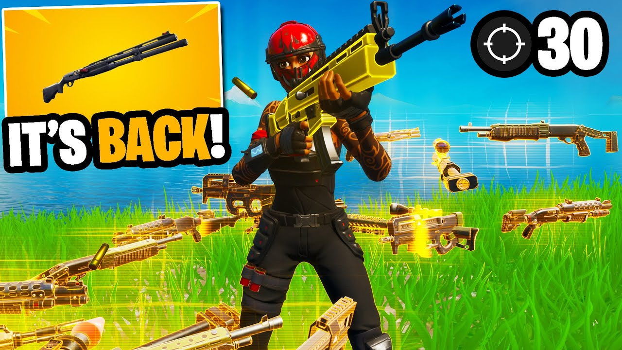 I got 100 fans to scrim using only vaulted gold weapons... (they're insane!)