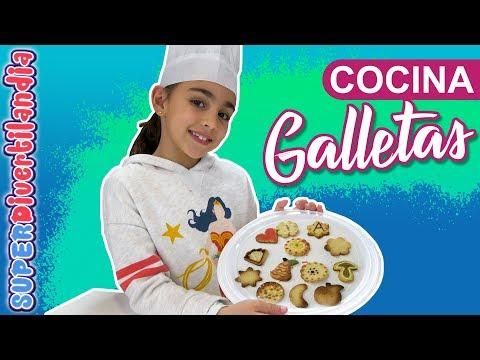 GALLETAS CASERAS por Navidad!! Cocinando en SUPERDivertilandia.