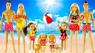 Play Doh Cinderella Aurora Fillip Charming and little princesses Beachwear