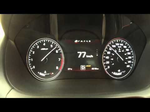 2015 Hyundai Genesis 5.0 AWD 0 60 MPH Text Video 420 Horsepower V 8
