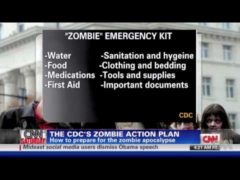 "CDC Interviewed Over ""Zombie"" Plan"