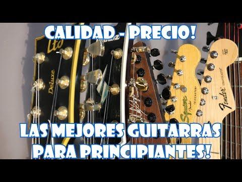 LAS MEJORES GUITARRAS PARA PRINCIPIANTES! CALIDAD - PRECIO
